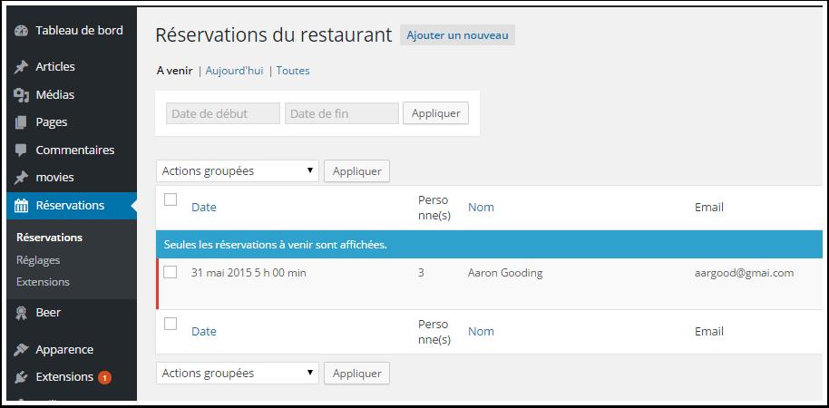 Cómo crear un sistema de reservas para el restaurante de WordPress ...