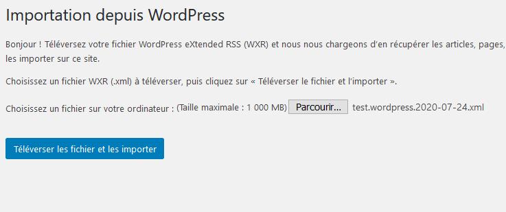 Comment importer exporter menus navigation wordpress blogpascher 4