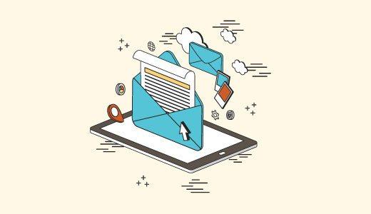mensagens de email