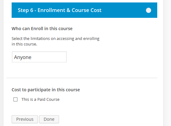 course-enrollement