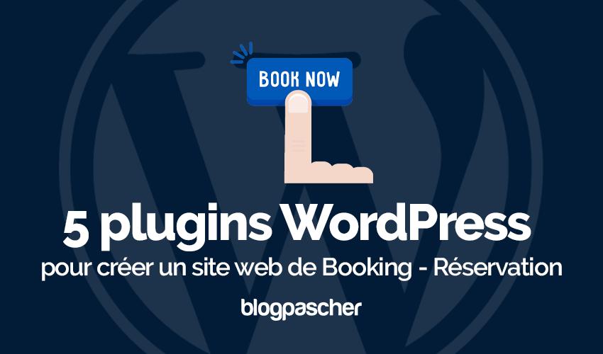 Plugin Wordpress Créer Site Web Booking Réservation