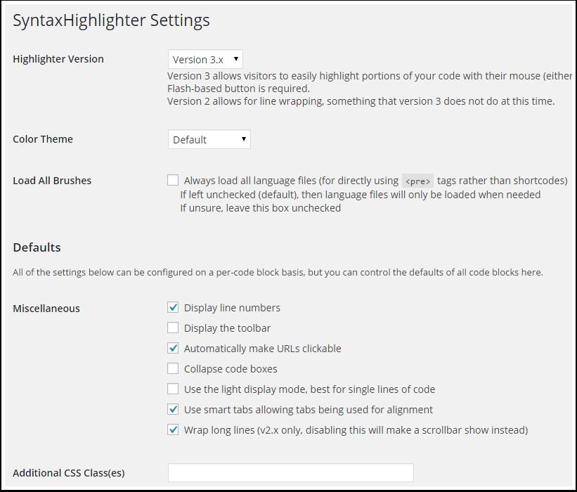syntaxhighlighter-reglages