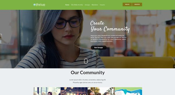thrive-theme-wordpress-creer-reseau-social-site-communautaire-prix-tarif