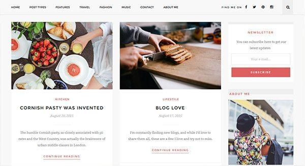 Cómo crear-blog-wordpress-cocina-tarifa-creación de sitio web-cocina-tema-wp