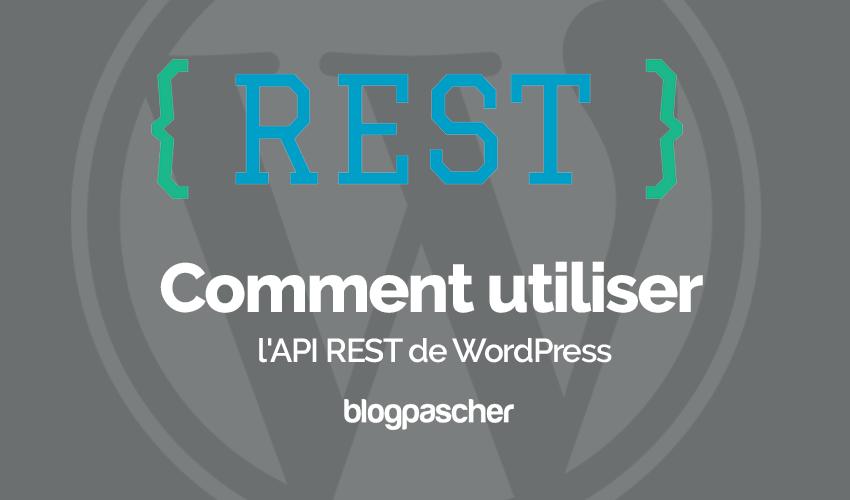 Comment Utiliser Api Rest Wordpress