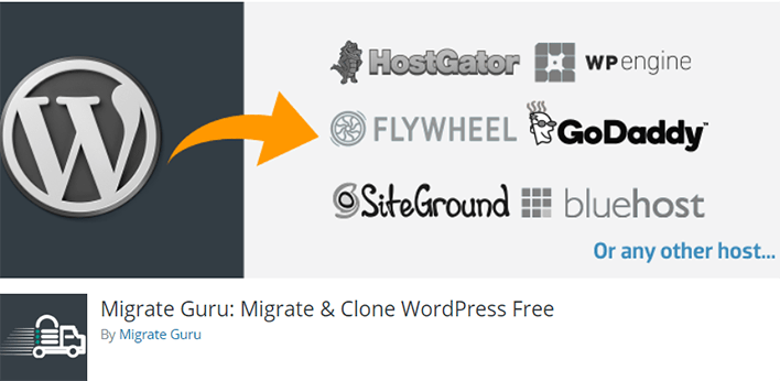 Migrate guru plugin wordpress migration clone sauvegarde
