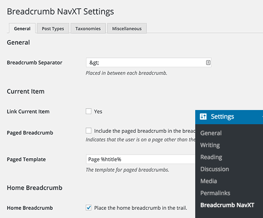 breadcrumbnavxt-settings
