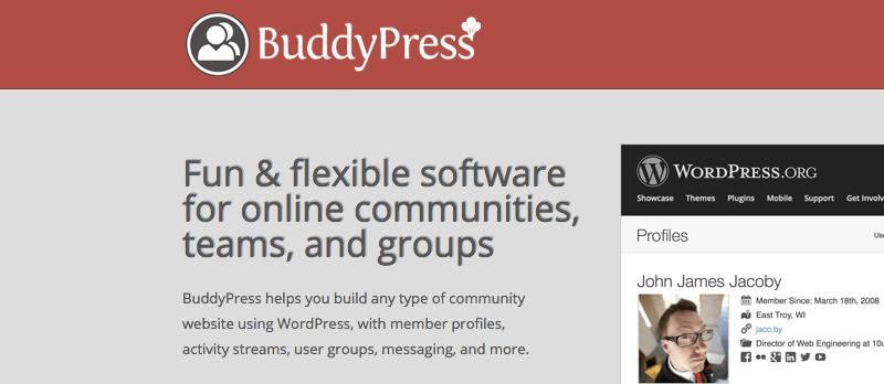 BuddyPress-плагин-WordPress