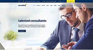 5 thèmes WordPress pour créer un site web d'une compagnie financière