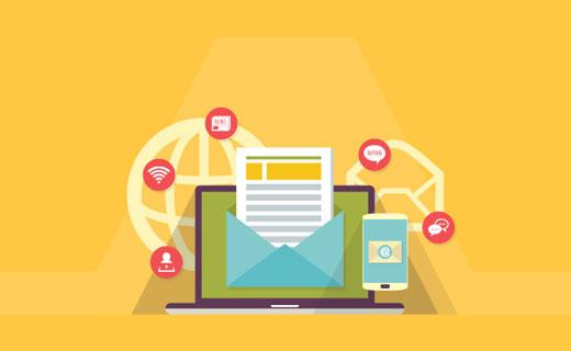 Criando uma lista de endereços de email