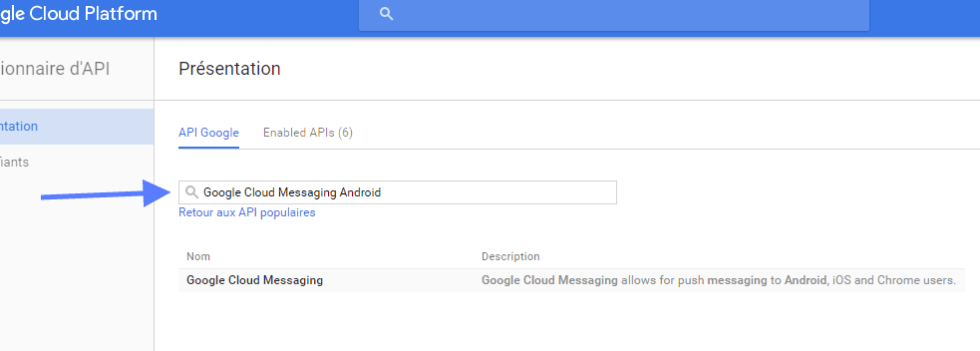 Google Messaging Android API