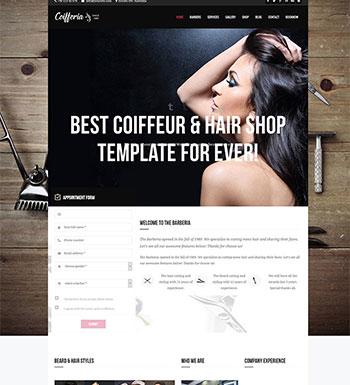 Barberia – Un thème WordPress pour créer un site web de salon de ...