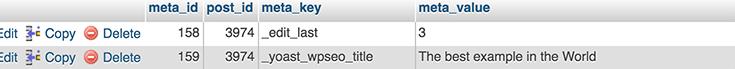 Baza danych WordPress