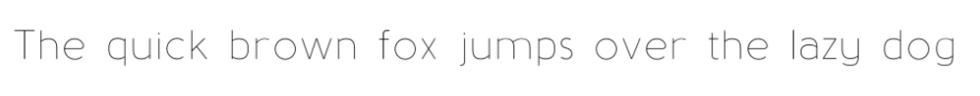 phông chữ font baufra cho WordPress