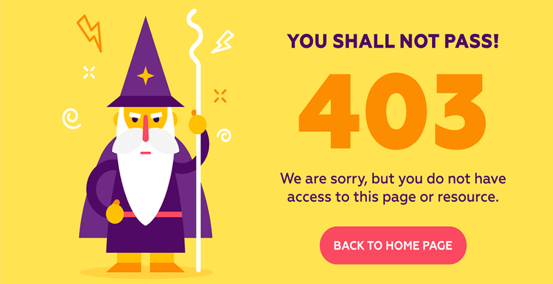 How To Fix 403 Forbidden Error On WordPress | BlogPasCher