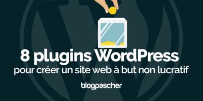 Plugin Wordpress Créer Site Web But Non Lucratif