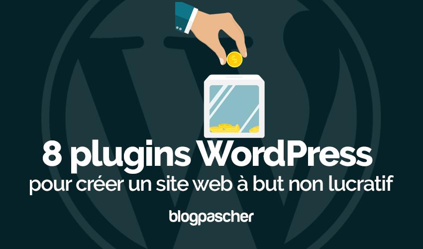 Wordpress Plugin Crea un sito web senza scopo di lucro