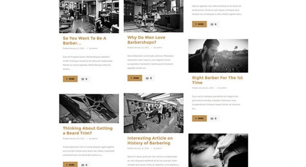 Saloon – Un thème WordPress pour créer un site web de salon de ...
