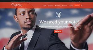 5 Themes Wordpress Pour Un Site De Diplomate Parlementaire Et De Gouvernement Blogpascher 6
