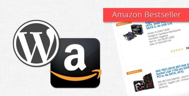 Amazon vendidos para WordPress