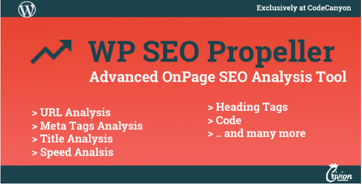 Wp seo propeller advanced seo analysis tool