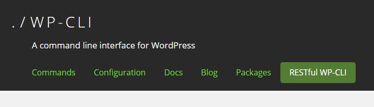 WP_CLI WordPress Plugin