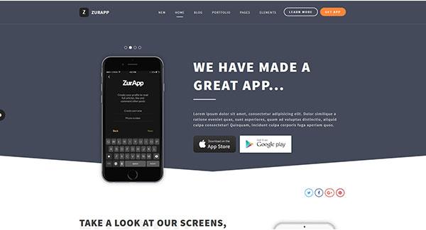 5 temas de WordPress para un sitio web para móviles | BlogPasCher