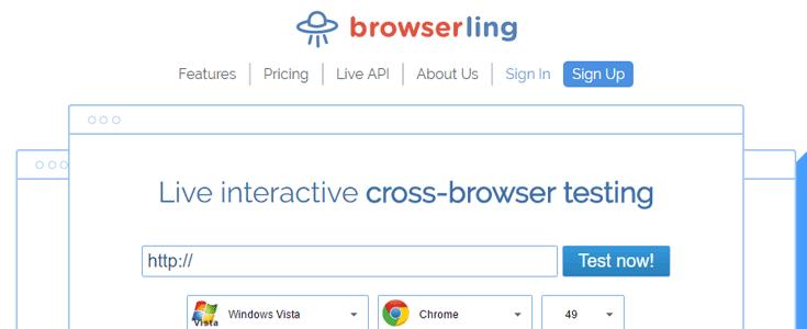 browserling outil de test de site web-