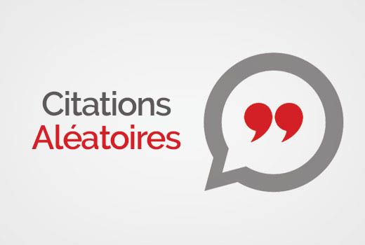 citations aléatoires WordPress