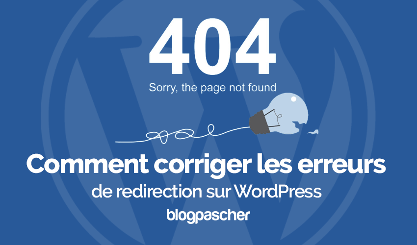 Comment Corriger Erreurs Redirection Wordpress