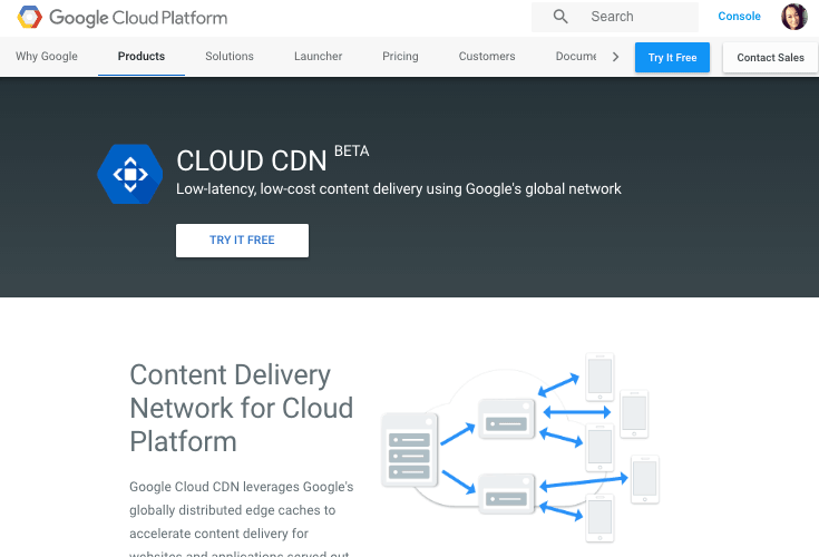 google-cloud-cdn para WordPress