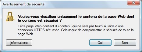 ie-security warning