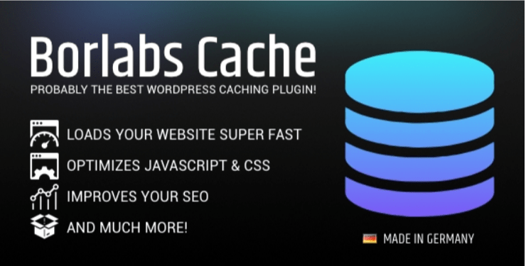 Borlabs Cache WordPress Caching Plugin