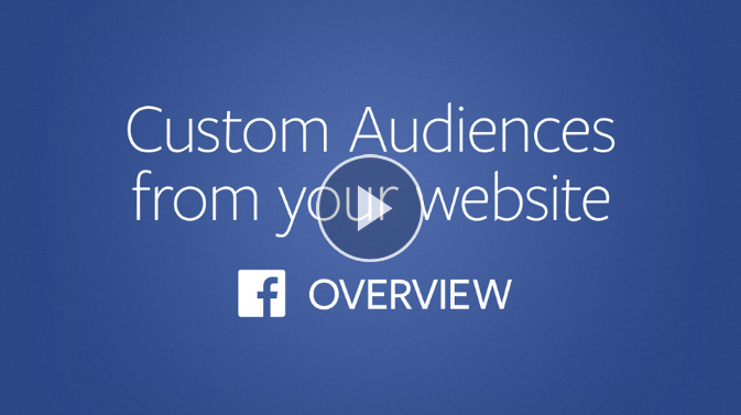 Facebook Remarketing Audience