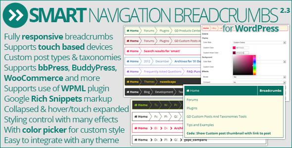 Smart Navigation Breadcrumbs