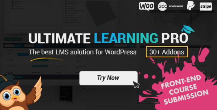 Плагин Ultimate Learning Pro для WordPress
