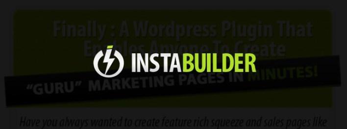 instabuilder-wordpress-plugin WordPress pour page d'accueil