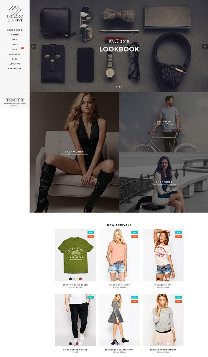 the look un th me woocommerce pour cr er une boutique sur internet blogpascher. Black Bedroom Furniture Sets. Home Design Ideas