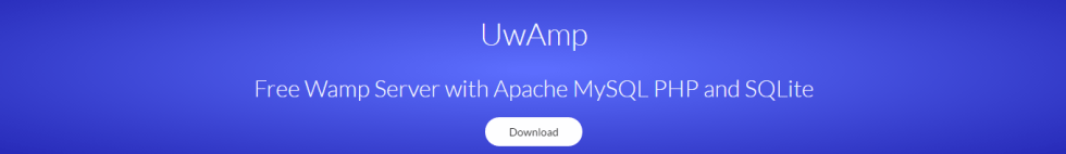 uwamp serveur web portable