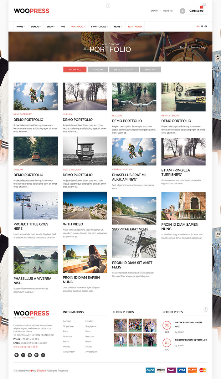 woopress un th me woocommerce pour cr er une boutique sur internet blogpascher. Black Bedroom Furniture Sets. Home Design Ideas