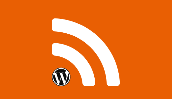 RSS 피드 구독자를위한 wp 콘텐츠