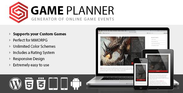 Planificador de juego