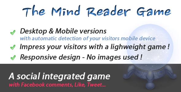 Mind Reader Social Game