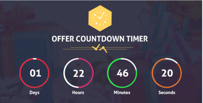 Offer countdown timer pro wordpress plugin for events products offers