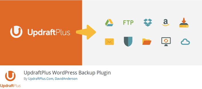 Updraftplus wordpress backup plugin wordpress
