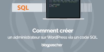 Comment Creer Administrateur Wordpress Via Code Sql
