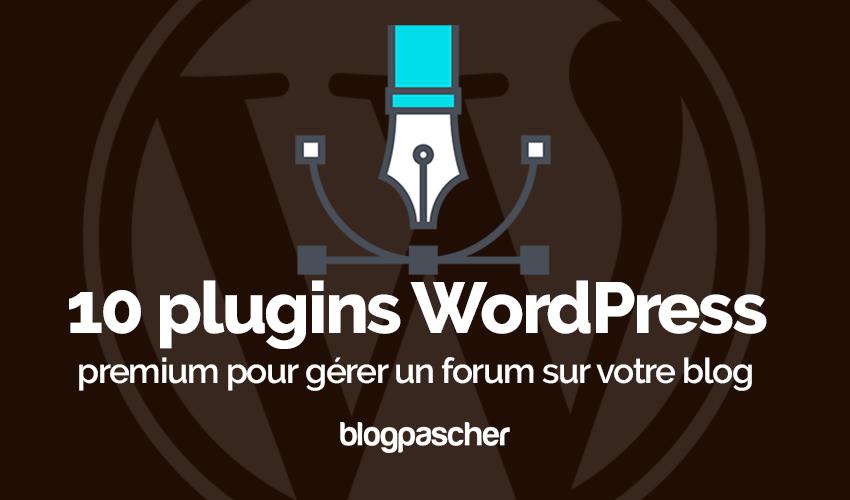 Wordpress-plugin Hantera forumbloggen