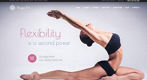 10 Thèmes WordPress Pour Site Web De Club De Yoga