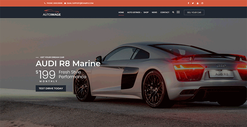 Autoimage Autodealer Theme