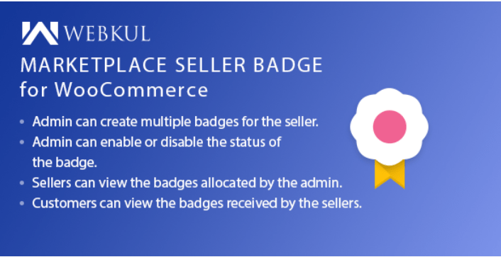 Marketplace multi vendor badge plugin for woocommerce